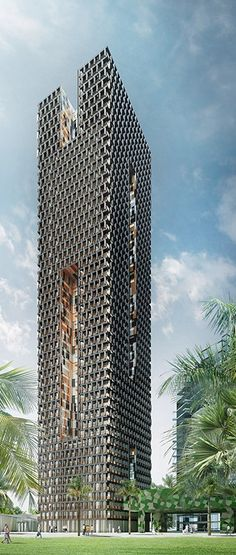 Kenny Heights Central, Kuala Lumpur, Malaysia by Foster and Partners, Adjaye Associates :: 50 floors