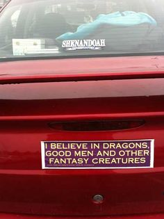 . Fantasy Creatures, Bumper Stickers, A Good Man, Men, Bumper Stickers For Cars, Guys