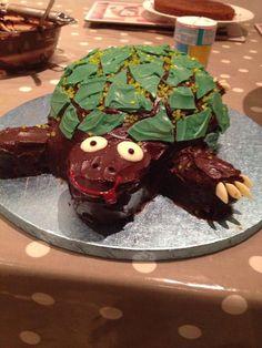 Tortoise cake for birthday Homemade Cakes, Tortoise, Pudding, Party Ideas, Birthday, Desserts, Food, Tortoise Turtle, Tailgate Desserts