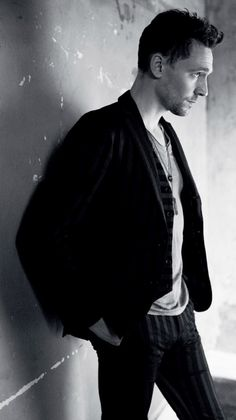 Tom Hiddleston.. ok he does look adorable here (: