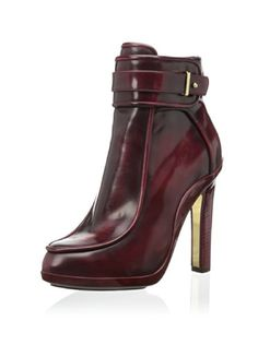 www.myhabit.com  Sophisticated style made of high-quality materials includes a side zip closure and stacked heel