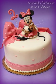 Minnie claudia by antonella di maria torte & design, via Flickr