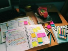 #study #révision #postit