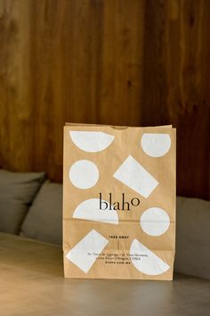 Blaho on behance material design, graphic design branding, identity design, print packaging, Corporate Design, Graphic Design Typography, Design Food, Web Design, Logo Design, Craft Packaging, Pretty Packaging, Takeaway Packaging, Packaging Design Inspiration