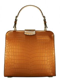 "Michael Kors Spring 2015 ""Millicent"" top handle bag."
