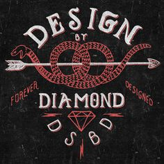 pretzel snake arrow diamond symmetrical, pleasing to the yes, vintage  who wouldn't love