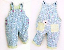 SWEET COMFY Romper pattern Pdf sewing pattern, Overall, Dungaree, children babies toddler, Baby Girl Boy 6 9 12 18 m 2 yrs Instant Download