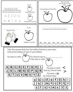 Name writing activities: Super-fun name writing worksheets: Find ...