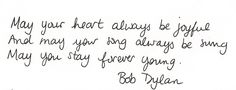 bob dylan lyrics | ... lyrics bob dylan dylan may performedbob dylan forever young lyrics bob