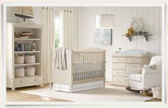 Rooms | Restoration Hardware Baby & Child - neutral nautical nursery
