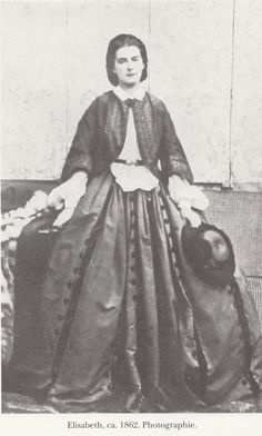 Kaiserin Elisabeth.!862.