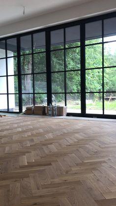 Home Room Design, Dream Home Design, Interior Design Living Room, Open Plan Kitchen Living Room, House Extension Design, Dream House Interior, House Extensions, Floor Design, House Rooms