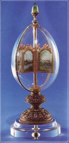 Faberge Revolving Miniatures (Rock Crystal) 1896.