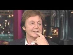 Paul McCartney strangely refers to himself in the third person when asked about his death rumors in the 60's. Also the look on his face as if he has given away a secret.