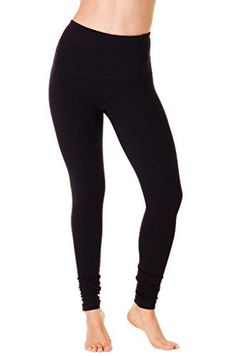 90 Degree By Reflex  High Waist Cotton Power Flex Leggings  Tummy Control  Black L -- More info could be found at the image url.Note:It is affiliate link to Amazon.