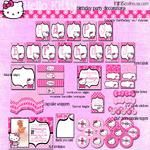 Hello Kitty Party Printable Collection (Light Pink)