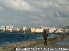The Malecon, Old Havana. Havana
