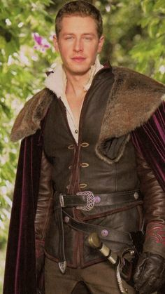 Josh Dallas, Prince Charming, Once Upon A Time.  He's growing on me..