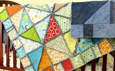 ~ Use your old jeans and turn them into a quilt you can use forever. Learn more about sewing denim quilts from upcycled jeans with these inventive patterns. Antique Quilts, Vintage Quilts, Denim Quilt Patterns, Denim Quilts, Denim Patchwork, Blanket Patterns, Bag Patterns, Quilting Projects, Sewing Projects