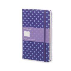 Notebook Large Ruled Pois Hard Cover - Moleskine