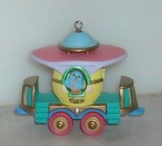 Hallmark Keepsake Easter Ornament Cottontail Express Passenger Car 1998
