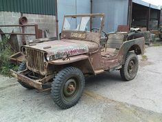 Barn find Willys Jeep - http://www.warhistoryonline.com/war-articles/barn-find-willys-jeep.html
