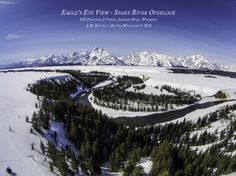 Eagle's Eye View - Snake River Overlook - with DJI Phantom 2 Vision by A.M. Ruttle on 500px
