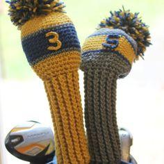 Amigurumi Golf Club Covers : Crochet Golf Club Covers Pattern Free Crochet Patterns ...