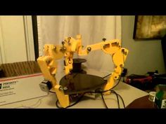 ▶ RepRap Simpson - Motion Test During Assembly - YouTube