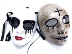 The purge God Cross mask Anarchy movie horror Kiss me Halloween Costume prom | eBay