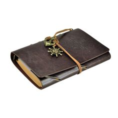 Amazon.com : 7Inches x5Inches Vintage Retro Leather Cover Notebook Journal Blank String Nautical : Office Products