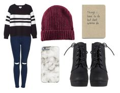 """""""Sin título #949"""" by immoverthemoon on Polyvore featuring moda, Topshop, Monki y H&M"""