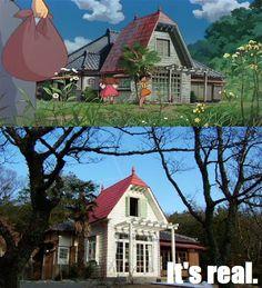 2015- real life My Neighbor Totoro House!!!!!