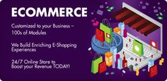 Our developers help you to create an attarctive online store for your business.