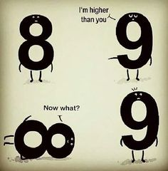 I'm higher than you...  | matematicascercanas