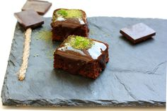 Glazed delicious brownies