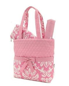 This Is Cute Too For A Of Course Pink And White Gray Chevron Diaper Bag By Sewsassybootique 29 95 Baby Pinterest Grey