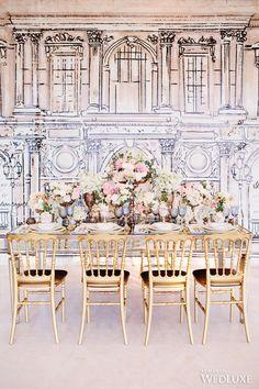 WedLuxe– Pastel-Hued Parisian Romance- Wedding Inspiration | Photography by: Alicia Thurston Photography  Follow @WedLuxe for more wedding inspiration!