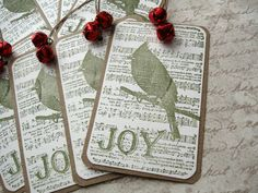Christmas Gift Tags - Just love it!