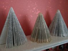 Recycled Paperback Christmas Tree