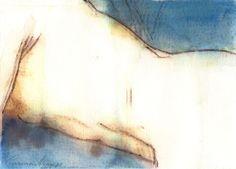 """""""Eros 4a"""" - Aquarela. Projeto """"Delta Z"""". Setembro 2004. Arte Erótica."""