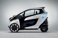 Cidade de Grenoble testa sistema público de partilha  de viaturas Toyota i-ROAD e Toyota COMS