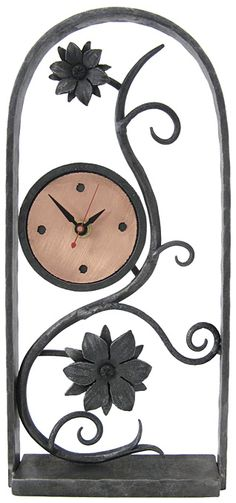 Steven Bronstein is part of the Montpelier-Calais regional group of artists participating in VT Open Studio Weekend. This is one of his stunning clocks. Cool Clocks, Iron Furniture, Iron Work, Metal Crafts, Blacksmithing, Metal Art, Wrought Iron, Metal Working, Decoration