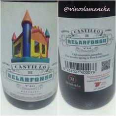 Castillo de Belarfonso. Denominación de origen Mentrida. Uva #garnacha. Vino, wine de Castilla la mancha.