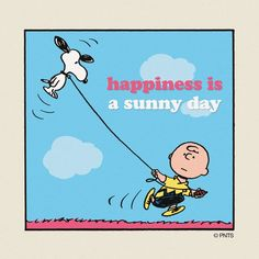 Happiness is a sunny day!