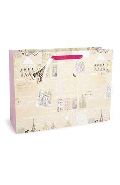 Primark - Pochette cadeau Paris Londres