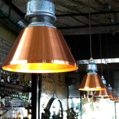 Kozo Lamp: Handmade, Upcycled Pipe Lamps - Tikra 10 Pendant Lamp, $339, now featured on Fab.