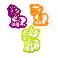 My Little Pony Cutie Mark Crusaders Cookie Cutter Set – WarpZone Prints