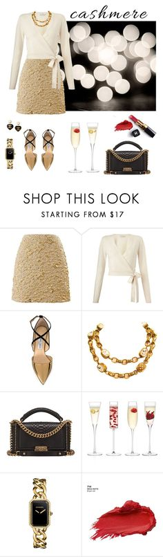 """""""Cashmere and champagne..."""" by modgirl71 ❤ liked on Polyvore featuring Kenzo, Miss Selfridge, Jimmy Choo, Chanel, LSA International and Urban Decay"""