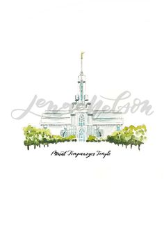 Mount Timpanogos Temple hand-drawn and watercolor painted by me. Designed with love and then converted into a digital file for your personal use. <<<<This product is an INSTANT DOWNLOAD printable file>>>> Please note this is a DIGITAL file, no physical item will be shipped.  Want an actual print shipped to you? See this listing for the high-quality print: https://www.etsy.com/listing/499163578/mount-timpanogos-watercolor-lds-temple?ref=sho...